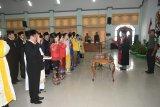 Pelantikan 25 anggota DPRD Gumas 2019-2024