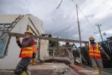 Gubernur: Konstruksi bangunan di Palu harus tahan gempa