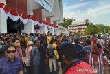 Massa aksi diterima Gubernur Papua