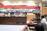 Peserta KKDN Sespimti Polri Dikreg kunjungi Polda Sulawesi Utara