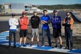 Pebalap MotoGP jalani uji coba sirkuit Kymiring di Finlandia