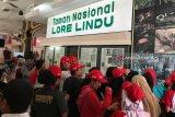Peserta SMN  asal Sumut berkunjung ke Museum Sulawesi Tengah