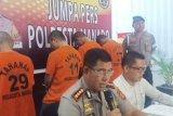 Tim Resmob Polresta Manado ringkus tiga  pelaku curanmor