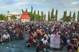 Papua Terkini: Sepuluh truk TNI-Polri dikerahkan untuk pulangkan 1.000-an  demonstran di Jayapura
