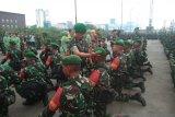 450 prajurit pengamanan perbatasan RI Malaysia dilepas di Pelabuhan Dumai
