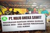 Masyarakat puji komitmen PT Maju Aneka Sawit bantu kegiatan keagamaan