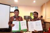 BPJS-TK Jayapura gelar pertemuan monitoring dan evaluasi bersama DPMPTSP