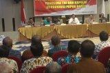 Presiden menyampaikan salam persaudaraan untuk masyarakat Papua