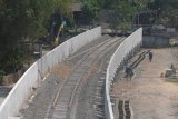 Pembangunan jalur kereta api Bandara Adi Soemarmo