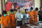 Operasi Antik Candi, Polres Temanggung tahan empat tersangka narkoba