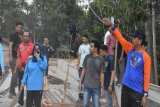 Wabup Sugianto pimpin kerja bakti Jumat bersih di Rujab Bupati