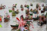 Ratusan kepala daerah akan makan malam di tepi Sungai Martapura