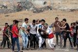Pasukan Israel tembak mati dua remaja Palestina saat aksi protes di perbatasan Israel-Gaza