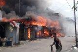 10 bangunan ludes terbakar di Pasar Sungai Apit
