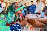 Kemensos serahkan bantuan Jadup korban bencana Donggala Rp1,2 miliar