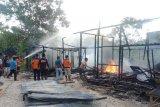 Dua bangunan di Jambu ludes terbakar akibat rokok