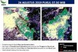 BMKG: 584 titik panas indikasi Karhutla