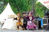 Tari Maraok, salah satu tari yang dilombakan di Padang Fair 2019