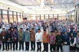 Jamaah haji kloter 10 asal Sulbar tiba di embarkasi Makassar