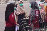 VIDEO - BEM Fakultas Kedokteran Unri bagi masker gratis kurangi dampak asap