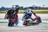 Quartararo dan Dovizioso tidak fit usai tabrakan di Silverstone