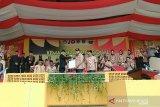 Atraksi budaya Kemah Budaya Nasional di Padang Panjang pecahkan rekor MURI