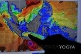 Hujan ringan di Yogyakarta dipicu fenomena MJO