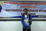 Lukas Kbarek, mahasiswa Papua finalis duta Asean