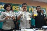Polres Bekasi tahan delapan penjual obat keras ilegal
