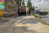 Jalan inspeksi di Sungai Code di Yogyakarta diharapkan bangkitkan wisata