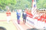 Di Istana Bogor, Presiden Jokowi sambut kedatangan Raja Malaysia