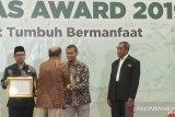 Laznas BMH raih dua gelar terbaik Baznas Award 2019