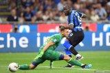 Romelu Lukaku cetak gol di debut Serie A bersama Inter Milan
