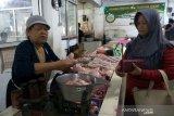 Kembali normal, harga daging ayam ras di Purwokerto Rp32.000/kg
