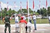 Kesbangpol Payakumbuh gelar lomba upacara bendera tumbuhkan nilai-nilai budaya bangsa