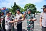 Pangdam xiv/Hasanuddin dampingi Panglima TNI dan Kapolri di Galaktika