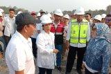 Menteri Rini pastikan ruas tol Pematang Panggang --Kayu Agung siap beroperasi