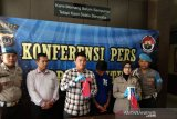 Polres Bantul menangkap pelaku pembobol konter handphone di Kasihan
