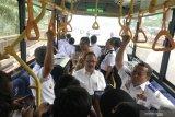 Bus listrik hemat biaya operasional hingga 65 persen