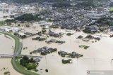 Hujan lebat di wilayah timur Jepang, korban tewas bertambah