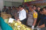 Polisi gagalkan peredaran narkoba jaringan Malaysia
