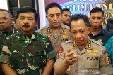 Panglima TNI dan Kapolri bertemu tokoh masyarakat Mimika dan Jayawijaya