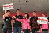 Jawara bulu tangkis terima bonus dari Kemenpora setiba dari Swiss. Salah satunya dari Riau