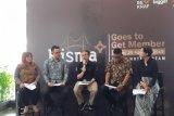 Sebanyak 48.593 pelaku ekonomi kreatif terdaftar di Bisma