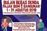 Bulan bebas denda PBB Kota Yogyakarta berakhir Sabtu