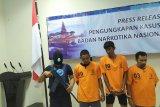 Tiga pengedar narkoba Jaringan Aceh ditangkap BNNP Bali