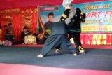 Belasan kesenian tradisional Minang ditampilkan saat pembukaan SAF 2019