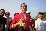 Presiden Jokowi tinjau Candi Borobudur Jumat pagi
