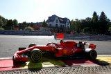 Duo Ferrari dominasi sesi latihan di Sirkuit Spa-Francorchamps Belgia
