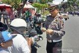 Hari pertama Operasi Patuh Singgalang, banyak pengendara yang kaget dan coba kabur